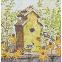 Servetten Birdhouse in Fall