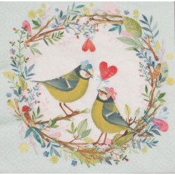 Servetten Bird Wedding