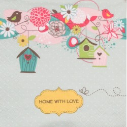Servetten Home With Love