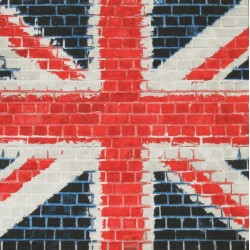 Servetten Union Jack Mosaic