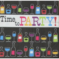 Servetten Time to Party